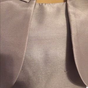 Ellen Tracy Dresses - Silver dress with matching jacket
